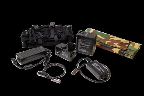 Зарядное устройство мобильное от прикуривателя автомобиля 12V к оружейному аккумулятору