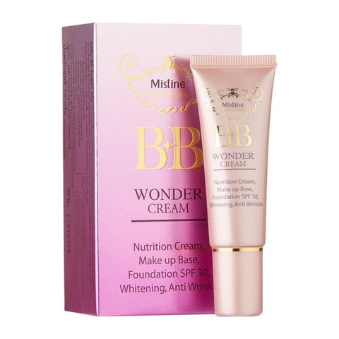BB крем, Mistine Professional BB Wonder Cream Anti Wrinkle SPF 30, 15 мл.