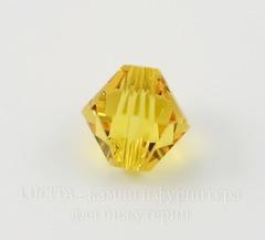 5328 Бусина - биконус Сваровски Sunflower 6 мм, 5 штук
