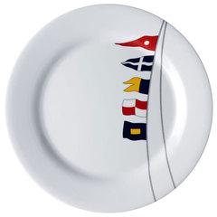 MELAMINE NON-SLIP DINNER PLATE, REGATA