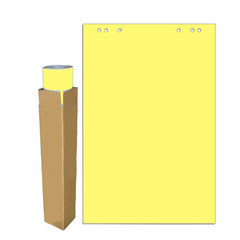 Бумага для флипчартов Attache Selection 68х98 см желтая 20 листов (80 г/кв.м)