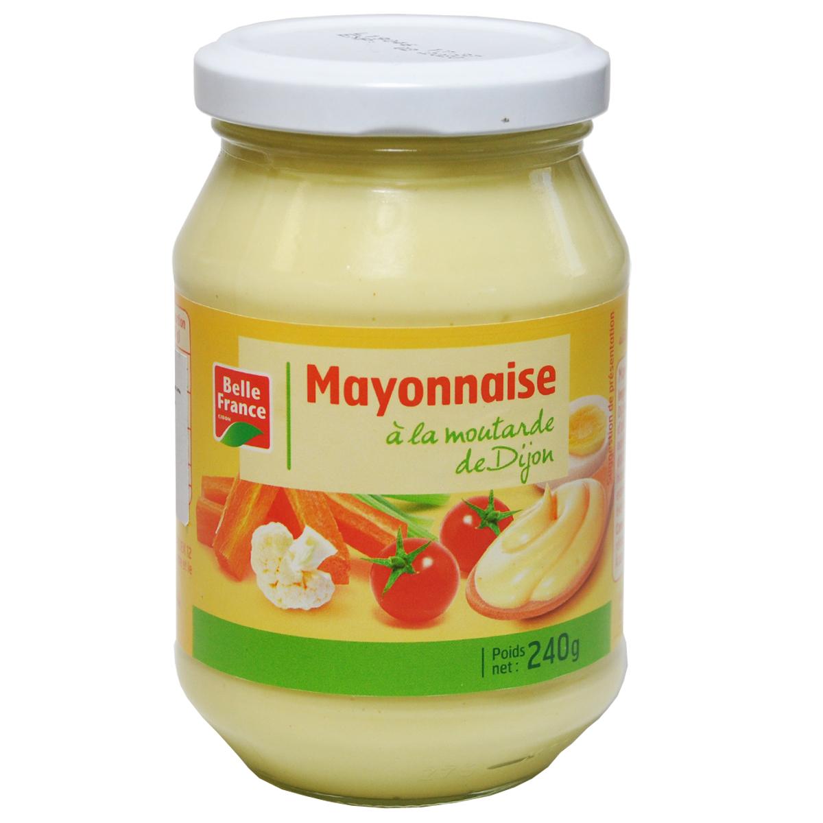 Майонез c подсолнечным маслом  Belle France 240г