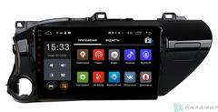 Штатная магнитола для Toyota Hilux 18+ на Android 6.0 Parafar PF063Lite