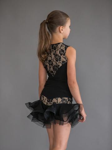 Детская юбочка для танцев с регилином