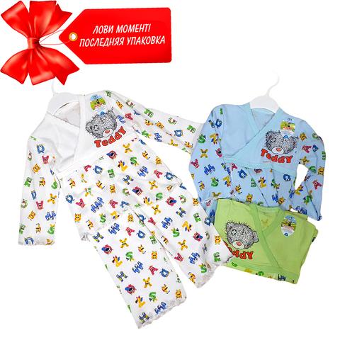 Пижама хлопок детская (2-3) 200614-OF128