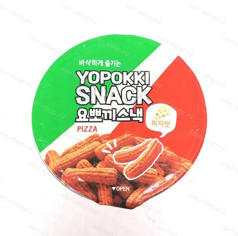 Снэк со вкусом пиццы YOPOKKI SNACK PIZZA, Корея, 50 гр.