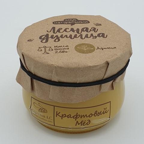 Мёд натуральный крафтовый Лесная Душица БЕРЕСТОВ А.С. 260 гр