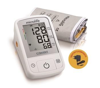 Тонометр автоматический с адаптером Microlife BP A2 Basic