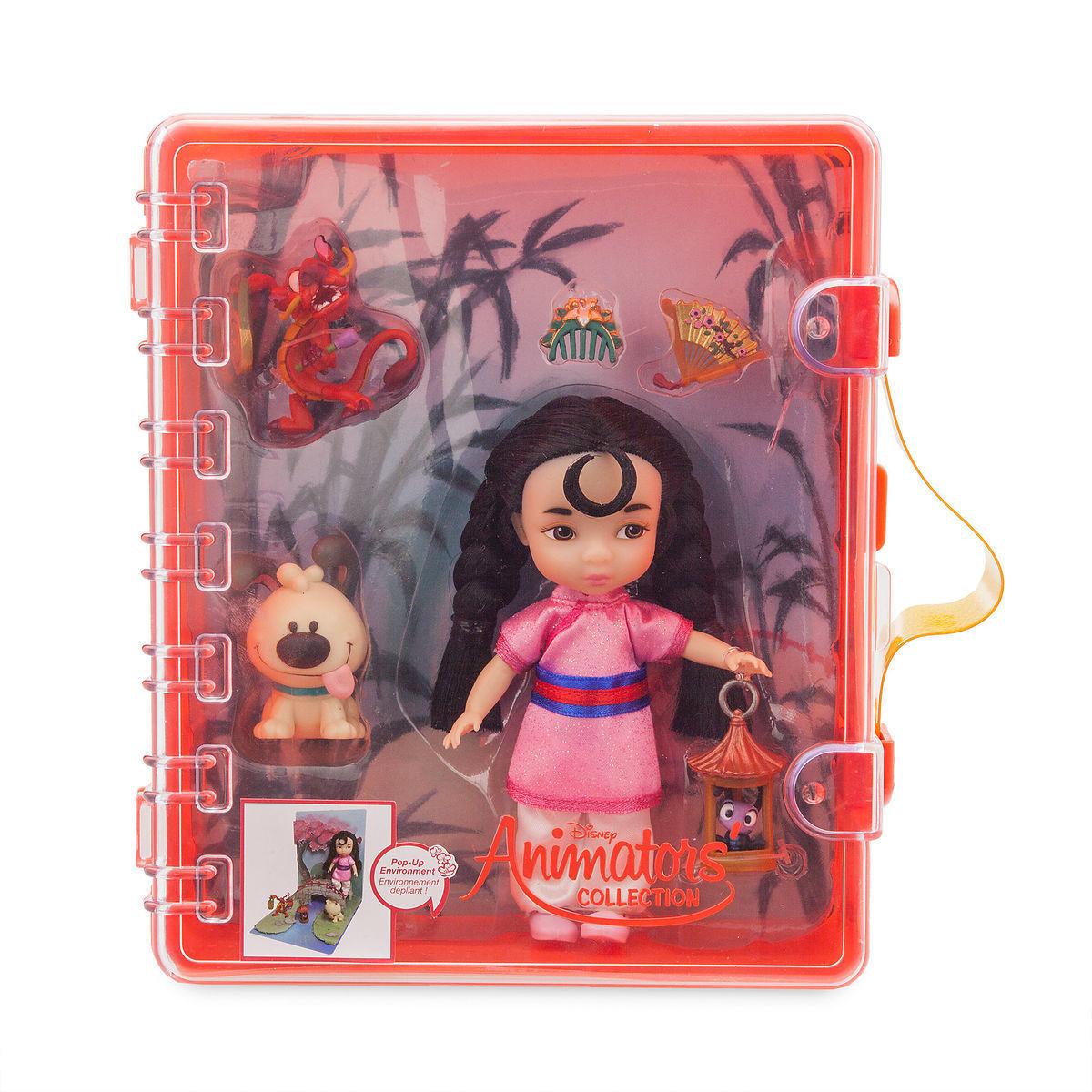 Мини-набор кукол Мулан - Disney Animators' Collection