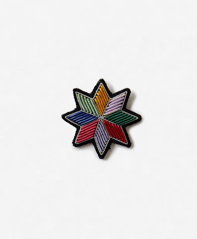Брошь Apache Flower