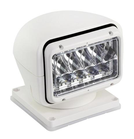 Прожектор светодиодный стационарный, с беспроводным пультом ДУ, белый (серия 220)