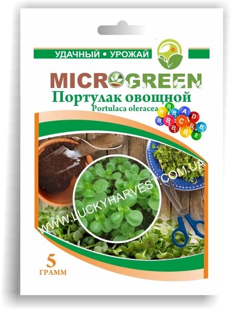 Микрогрин Портулак Овощной
