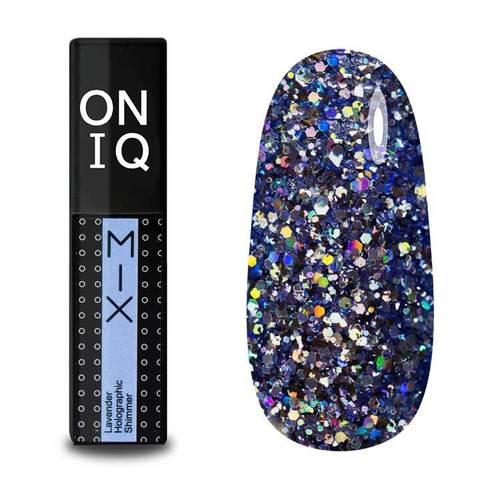 OGP-101s Гель-лак для покрытия ногтей. MIX: Lavender Holographic Shimmer
