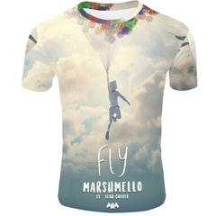 Футболка 3D принт Диджей Маршмеллоу  (3Д DJ Marshmello) 03