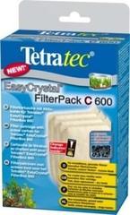 Tetra EC 600 С фильтрующие картриджи с углем для внутреннего фильтра EasyCrystal 600 3 шт.