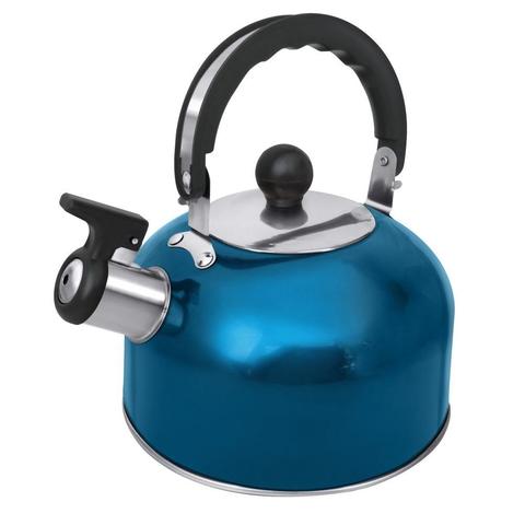 Чайник со свистком HOME ELEMENT HE-WK1602 голубой аквамарин