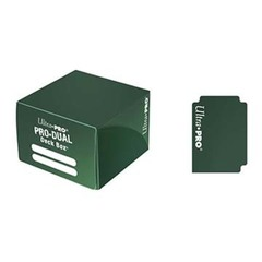 Dual Standard Deck Box Green (UP)