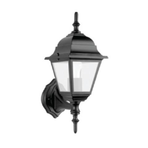Светильник 4060-01 садово-парковый четырехгранник, 60Вт, вверх, черный TDM