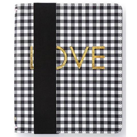 Тревел холдер- Color Crush A5 Travel Notebook (без блокнота) Black Check