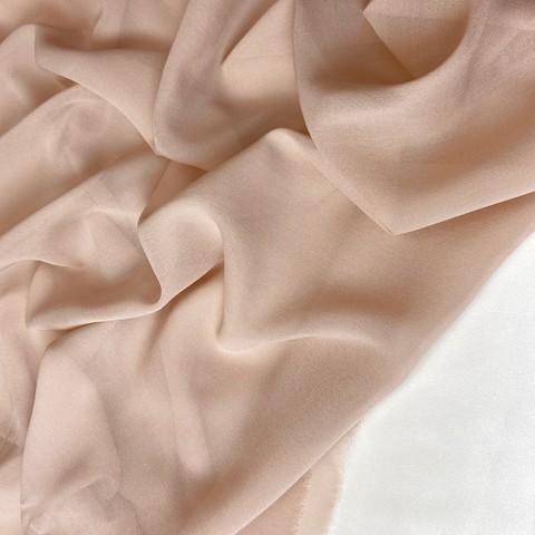 Шифон шелковый  цвета сухой розы 1188