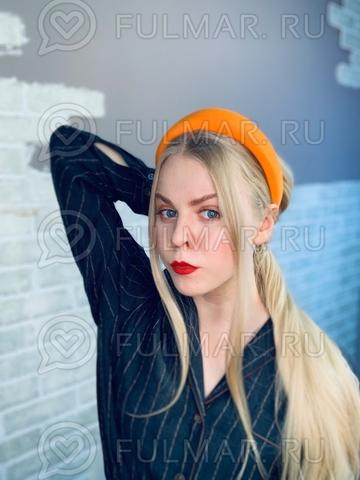 Широкий ободок для волос модный 2019 Оранжевый