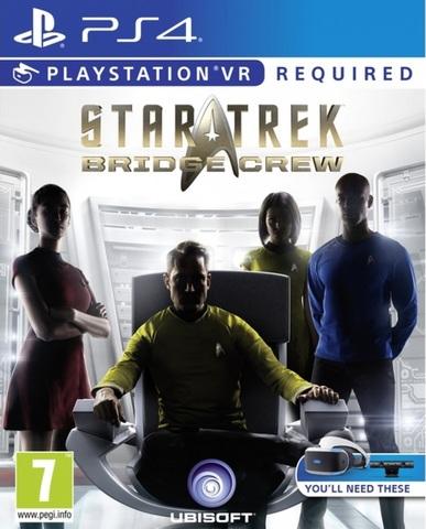 PS4 Star Trek: Bridge Crew (только для PS VR, английская версия)