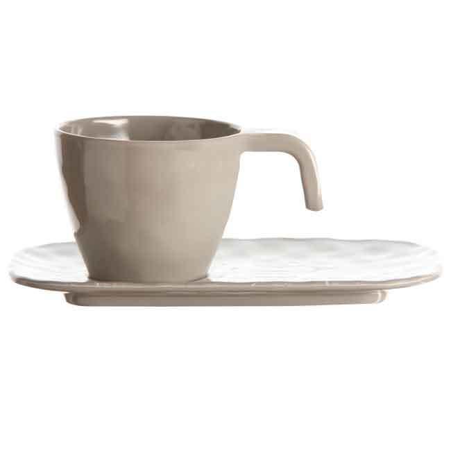 MELAMINE COFFEE SET BALI, 6 UN