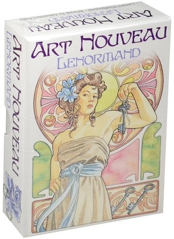 Карты Таро Art Nouveau Lenormand