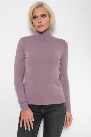 Джемпер (кашемир сиренити). <p>Модный джемпер из мягкого кашемира отлично сочетается с юбкой, брюками и джинсами, создавая стильный ансамбль практичности и утонченности.</p> <p>&nbsp;</p> <p><span>(Один размер: 42-48)</span></p>
