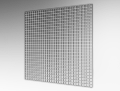 Решетка Сота  600х600 мм ВанВент П6060ДП