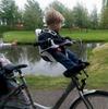 Картинка велокресло Bobike ONE mini strawberry red