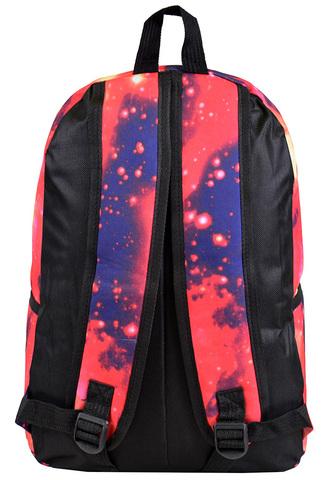 Рюкзак космос с флагом красный