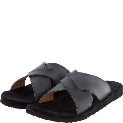 577157 сабо мужские серые. КупиРазмер — обувь больших размеров марки Делфино