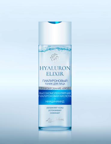 Liv-delano Hyaluron Elixir Гиалуроновый тоник для лица 200мл