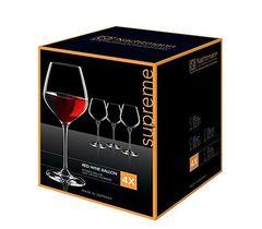 Supreme - Набор фужеров, 4 шт, для шампанского, 300 мл, хрусталь, фото 1