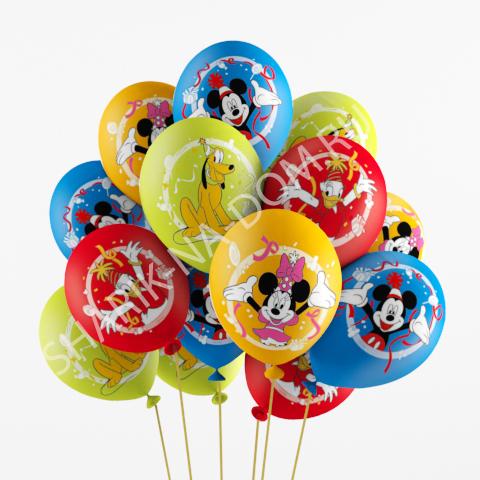 Украшение шарами на День Рождения ребенка Воздушные шары Микки Воздушные_шары_Микии_Маус.jpg