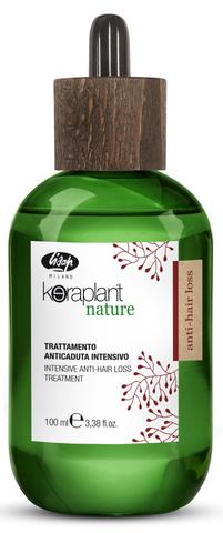 Интенсивный лосьон против выпадения волос - Lisap Keraplant Nature Intensive Anti-Hair Loss Treatment 100 мл