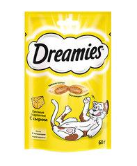 Dreamies лакомство для кошек с сыром 60 г
