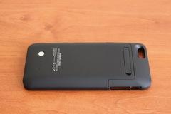 Чехол-ресивер-аккумулятор на 4200 мА/ч для телефона IPhone 6 plus