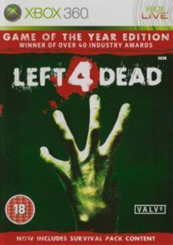 Left 4 Dead - Game of the Year Edition (Xbox 360, русская версия)
