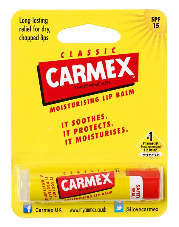 Бальзам для губ Carmex ® классический,стик в блистере
