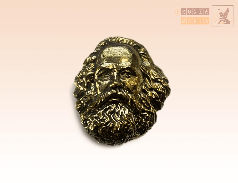 значок Карл Маркс