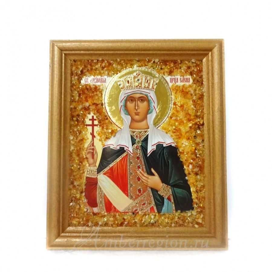 Икона Святой равноапостольной царицы Елены