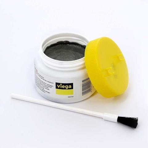 Паста для мягкого припоя VIEGA 250 г с кисточкой