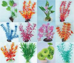 Искусственные растения в ассортименте 20 см