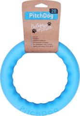 Игрушка для собак игровое кольцо для аппортировки d 20 голубое, PitchDog 20