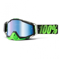 Кроссовые очки 100% Racecraft MX Goggles Metal-Lime