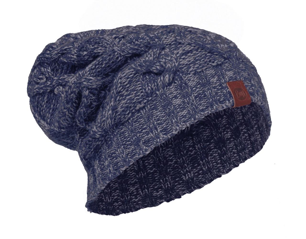 Шапки крупной вязки Вязаная шапка Buff Nuba Medieval Blue 2008.783.10.jpg