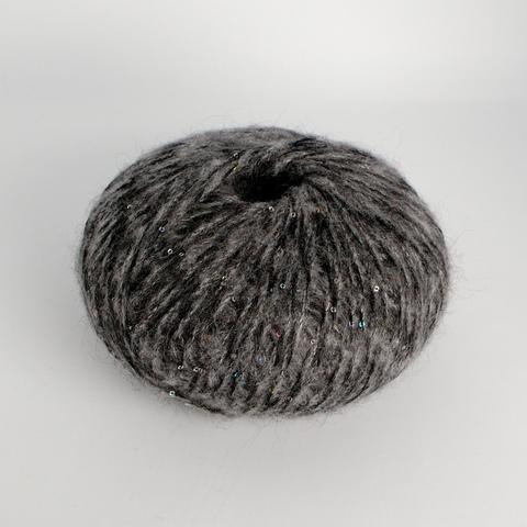 Смесовка PAILLETTES, серый (100 г)