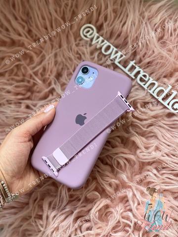 Чехол iPhone XS Silicone Case Full /blueberry/